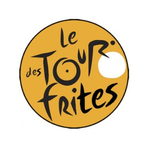 Tour des Frites badge