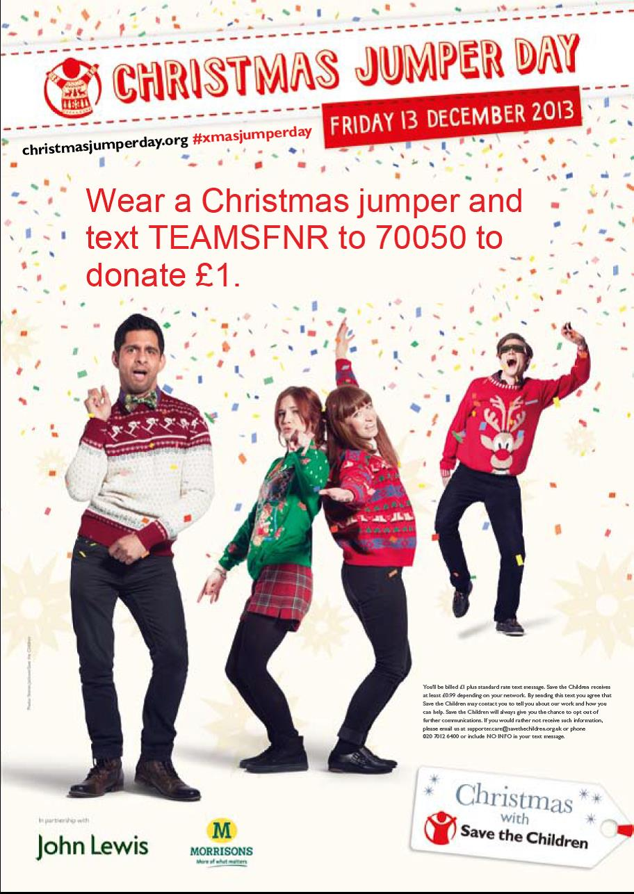 Christmas Jumper Day 2019 Uk.2013 12 13 Ligging It In Your Xmas Jumper