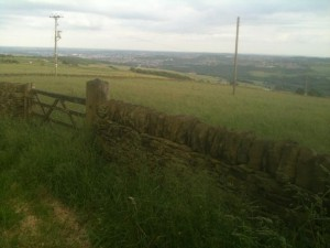 1st view of Sheffield for TdF peloton