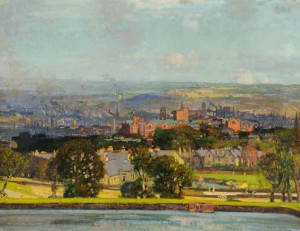 Stanley-Royle-Sheffield-from-Crookes-1923-©